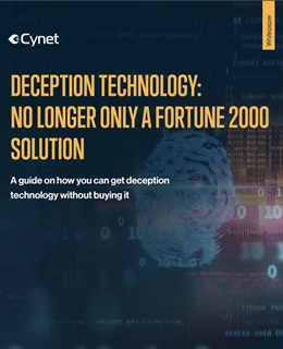 Deception Technology: No longer only a Fortune 2000 Solution