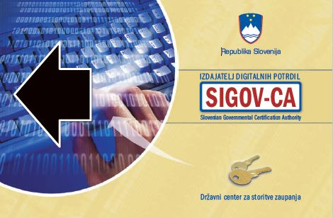 SIGOV CA smart card2