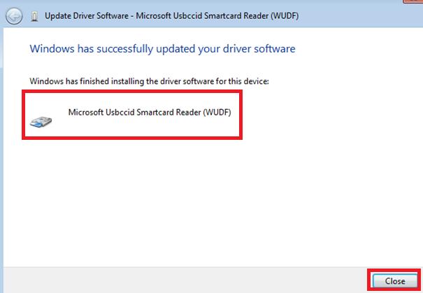 Lettore di smart card Usbccid Microsoft (WUDF) Driver