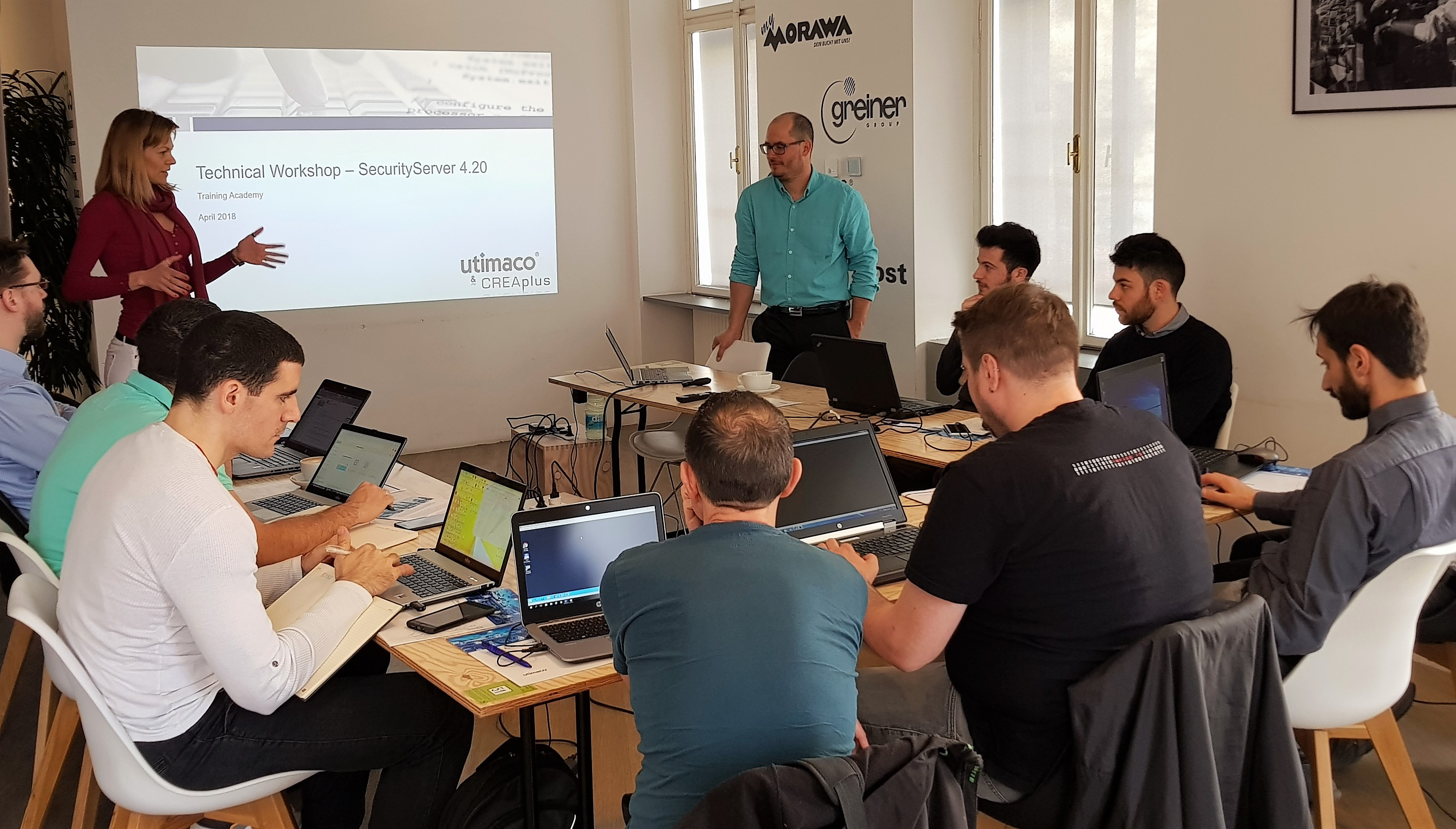 Utimaco HSM Tech Training Vienna April 2018