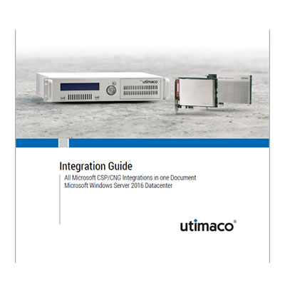 Utimaco Integration Guide