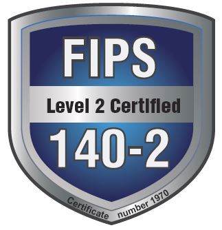 FIPS 140-2 Level 2 validated